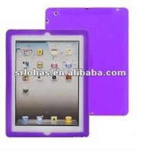 elegant purple silicone case for ipad2
