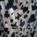 100% animal impresso tecido microsoft/luxuoso curto para têxteis-lar