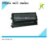 cheap 108 pcs high brightness led down wall washer/wash stage light for studio/concert/theater
