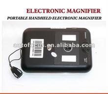 portátil de mano lupa electrónica