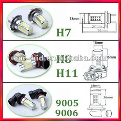 Super Bright 12V Auto LED H7 H8 H11 9005 9006