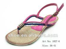 2012 Ladies' Fashion sandals flat sandals for ladies pictures