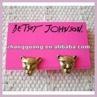 Hot Sale Fashion Jewelry,Leopard Earring