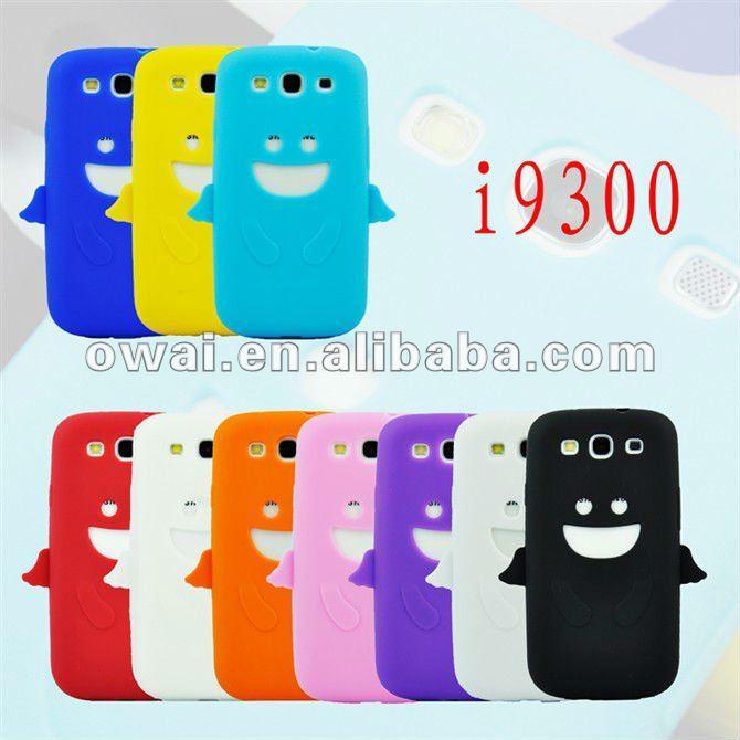 New Cute Angel Silicone Gel TPU Soft Back Cover Case Skin for Samsung Galaxy S3 Siii I9300