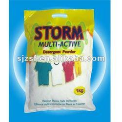 Stain remover/detergent powder