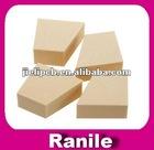 cream irregular shape 4(pcs) wholesale lot beauty makeup blender blending sponge