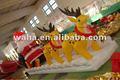 2012 caliente de la venta de decoración de eventos inflables de navidad padre