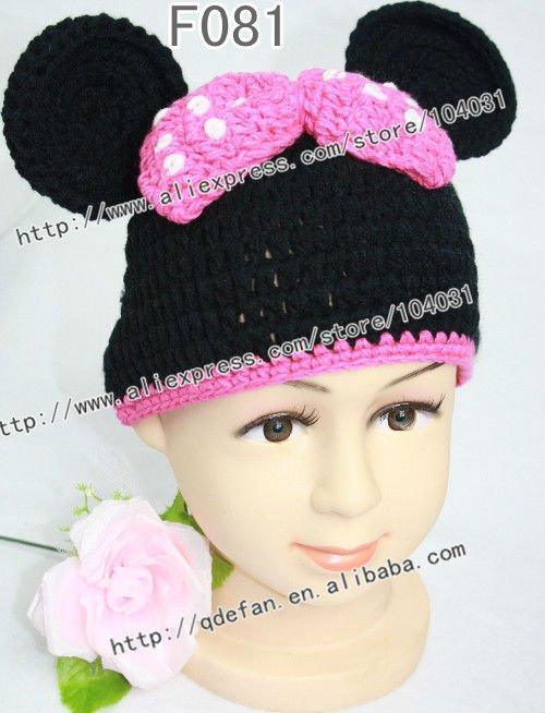100% de bebé de algodón sombrero de ganchillo con los patrones de