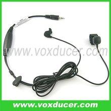 Ear bone earphone for Motorola Visar series 3.5mm one pin Two way radio