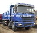 Shaanxi f3000 hombre volcado pesados/camión volquete