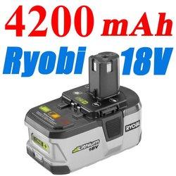 Ryobi Lithium 18V Battery 4200mAh High Capacity Ryobi 18Volt Compact Battery