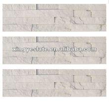 white quartzite tile decorative brick
