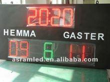 led football substitute board, soccer substitution board led scoreboard