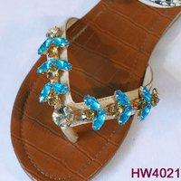 fashion rhinestone shoe chain, popular plastic shoe ornaments for lady