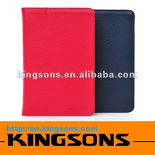 new arrival! 2012 hot-selling high-grade pu leather case for Amazon Kindle Fire compact design