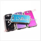 Brushed metal/wire drawing aluminum cell phone diamond case for Samsung Galaxy S3 i9300