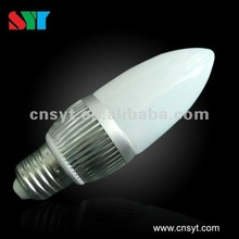 E14 base 4W high power LED candle lamp for chandelier