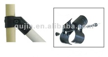 45 degree angle iron metal pipe joint
