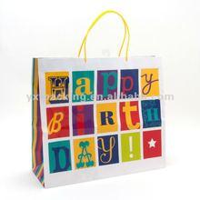 Graphic Happy Birthday Jumbo Gift Bag
