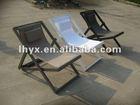 alum folding beach lounge chair/alum sling beach chair