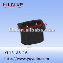 marine switch socket YL13-AS-16 ac power socket 15 amp socket