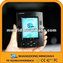 2012 new design Mini RFID mobile payment reader from the professional factory