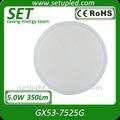 Gx53 kabinett glas 25 stück 5050 5w led lampe( gx53- 7525g)