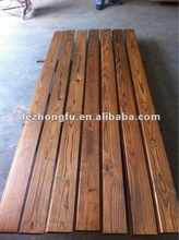 carbonized wood wall panel