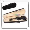 Baratos! Black 4/4 qualidade estudante de violino mini - h5044