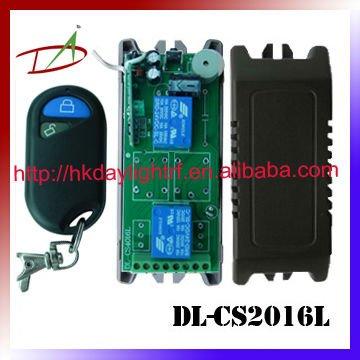 12VDC 2ch de sinal sem fio sender e receiver