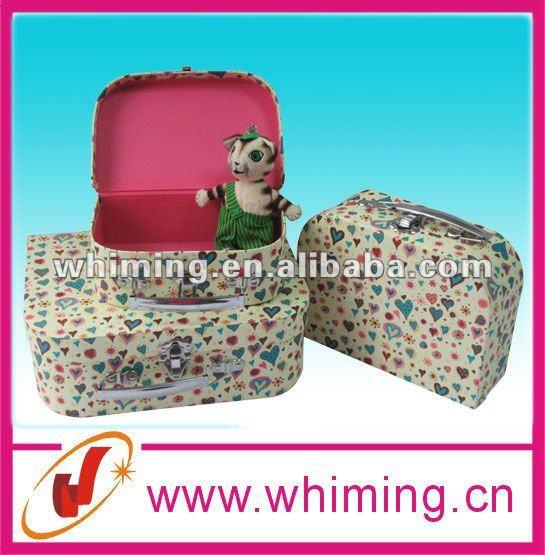 Cute Cardboard Cute Paper Cardboard Suitcase