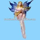 Polyresin decorative fairy shelf sitter