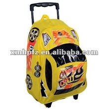 hotselling kids wheeled backpack cute shape