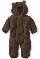 2012 Infant Lovely High Loft Fleece Coverall Baby Wear