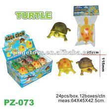 Magic expanding sea turtle sea creature toy