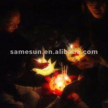 Chinese lotus water lantern for Thanksgiving use