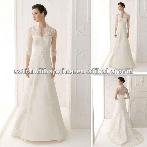 Wedding Dress Lace Overlay Jacket 105