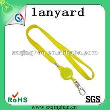 fashion custom polyester mobile phone lanyard/strap