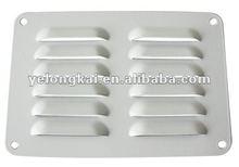 """6""""*4"""" white aluminum auto air conditioning vents"""