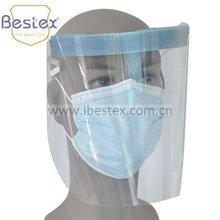 Disposable Face Shield (anti-fog, anti-static, no-glare lens)