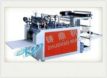2012 Good quality Computer-controlled Heat-sealing & cutting plastic vest bag making machine