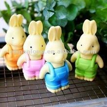 fashion cartoon animals shaped erasers
