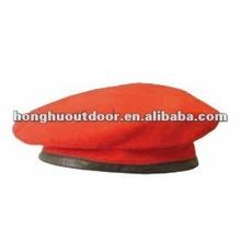 militar boina vermelha para soldado do exército chapéu militar