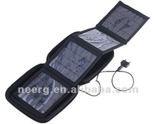 4w Foldable Solar Charger Bag with 4 Solar Panels