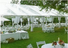 Newest Luxury 20mx40m Wedding Tent in 2012 for romantic people