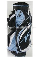 mother and kids nice nylon golf bag