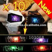 2012 HOT And New COOL Light Digital Sports Quartz RUBBER Wrist Watch Wristwatch