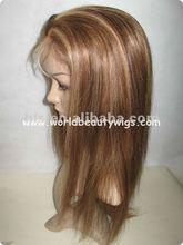 full lace gluess wig, virgin indian human hair