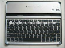 for iPad 2 Aluminum bluetooth keyboard interface standard keyboard ,black color