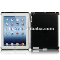 TPU Case for the New iPad / iPad 3 Smart Cover (using in S-IPAD3-0385), Black